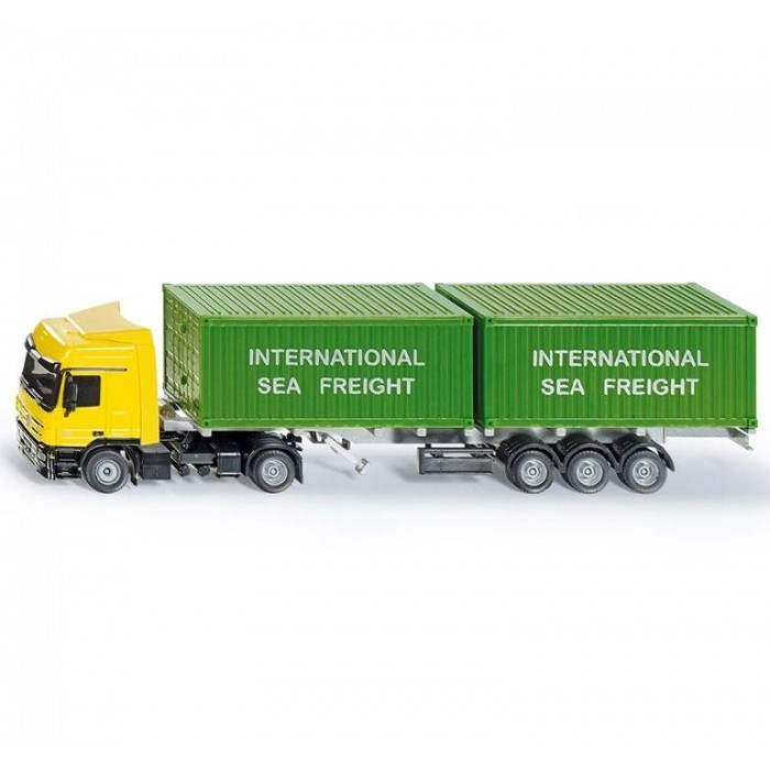 Kavanaghs Toys Siku Mb Actros Truck With Containers 1 50