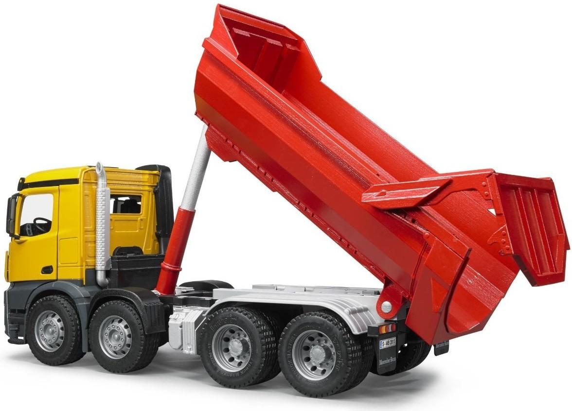 Bruder Construction Toys : Kavanaghs toys bruder mercedes benz halfpipe dump truck