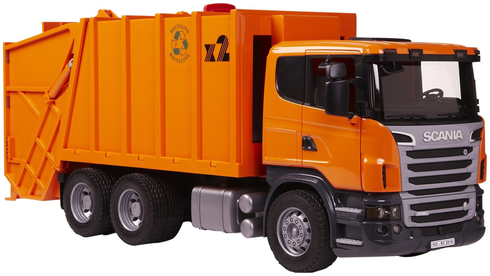 remote control lorry with Bruder Scania R Series Rubbish on Rc Semi Trucks moreover Tow Truck also 221990123422 additionally Watch in addition That S One Way Baby Sleep Inventive Father Tows Newborn House Remote Controlled Toy TRUCK.