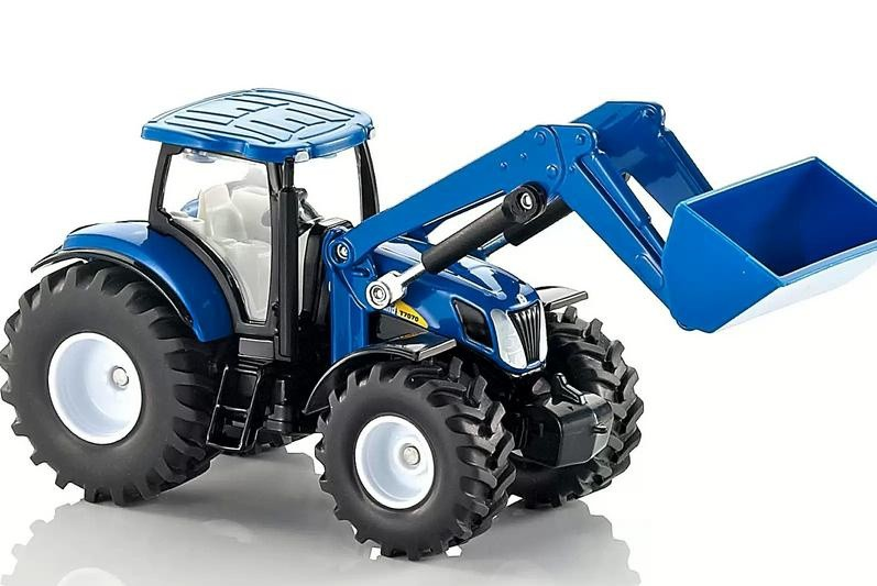 Kavanaghs Toys Siku New Holland T7070 With Loader 1 50 Scale