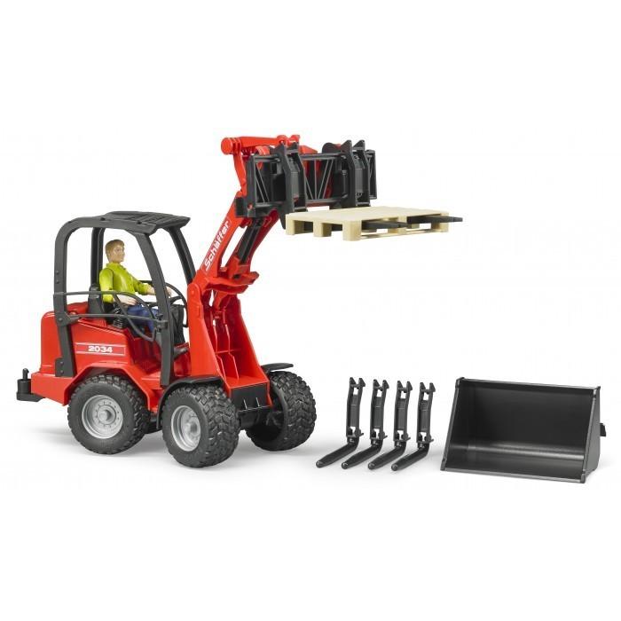 Kavanaghs toys bruder schaffer loader with figure