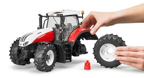 kavanaghs toys bruder steyr 6300 terrus cvt tractor 1 16. Black Bedroom Furniture Sets. Home Design Ideas